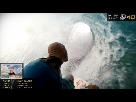 GoPro : searching for Kelly Slater