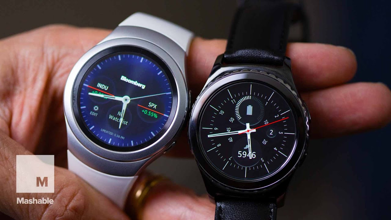 With the Gear S2 Smartwatch, Samsung Finally Gets Wearables   Mashable
