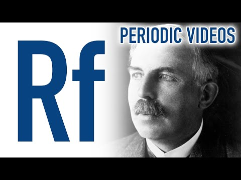 Rutherfordium periodic table of videos ted ed