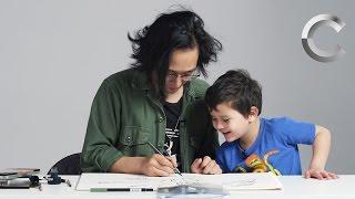Kids Describe God to an Illustrator | Kids Describe | Cut