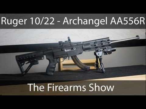 Ultimate Assault Rifle - Ruger 10/22 Archangel AA556R