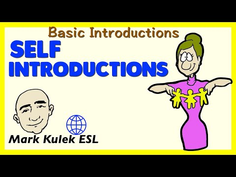 Self-Introduction   Basic English Conversation Practice   ESL   EFL