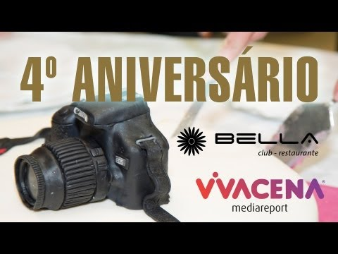 4º Aniversário Vivacena - Bella Club & Restaurante video