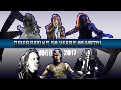 Download The #1 Biggest heavy  METAL Hits Of Each Year  1968 - 2017  Mp4 baru