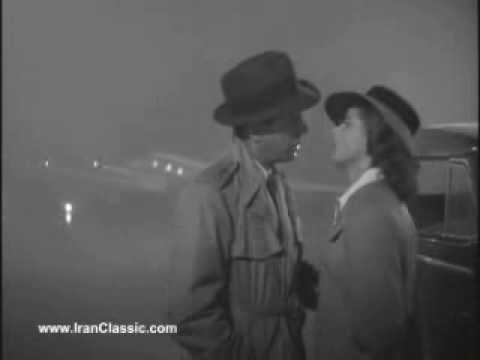 CLIP ... I fell in love with you watcing CASABLANCA ...
