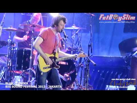 BLUR - TENDER live at Big Sound Festival Jakarta, Indonesia 2013