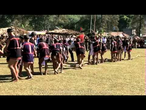 Tug of war : fun and good times in Arunachal Pradesh