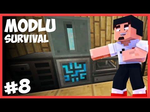 DİJİTAL SANDIK SİSTEMİNE GEÇTİK - Minecraft Modlu Survival - #8