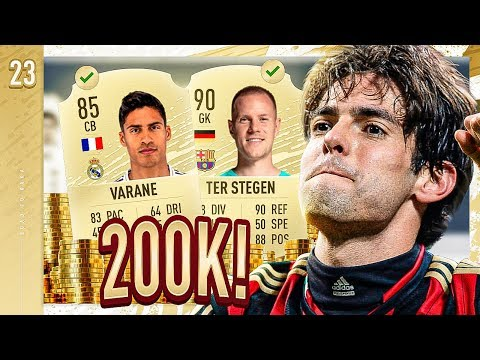 2 MASSIVE NEW SIGNINGS!! *200K VARANE* - FIFA 20 KAKA ROAD TO GLORY #23