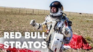 Red Bull Stratos World Record Freefall