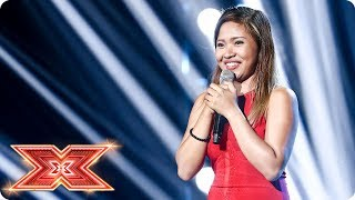 Alisah Bonaobra takes on Celine Dion's All By Myself   Six Chair Challenge   The X Factor 2017