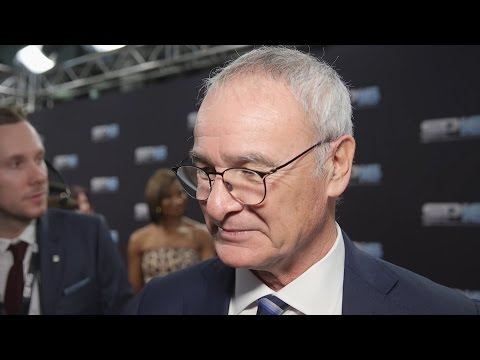Leicester City Attend Sports Personality Of The Year 2016 - Interview With Manager Claudio Ranieri