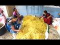Amazing Cooking Tamarind Rice Prepared 1000 People Hindu Function || Street Food Catalog