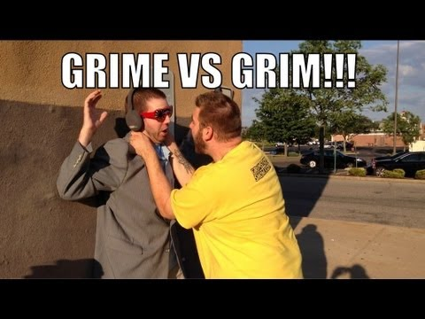Grim's Toy Show ep 540: Grim vs Grime! Kmart Backstage Brawl Playset! WWE figure collections
