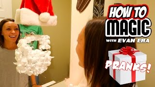 7 HOLIDAY MAGIC PRANKS!