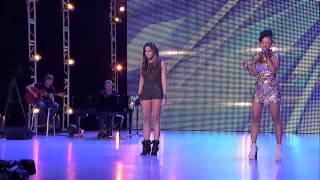 CeCe Frey vs. Paige Thomas - Secrets (The X Factor USA 2012)