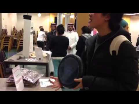 University of Iowa Student Learns how to Play Arabic Drum