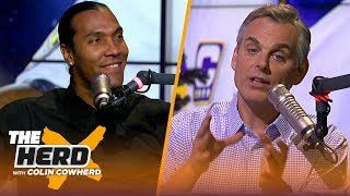 T. J. Houshmandzadeh makes NFL playoff picks and analyzes the Steelers' failures | NFL | THE HERD