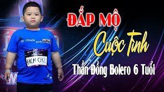 Thần Đồng Bolero 6 tuổi Quốc Huy hát Đắp Mộ Cuộc Tình Chấn Động Triệu Con Tim