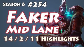 SKT T1 Faker - Ekko vs Twisted Fate - ESC Ever Bless, KR LOL SoloQ Highlights
