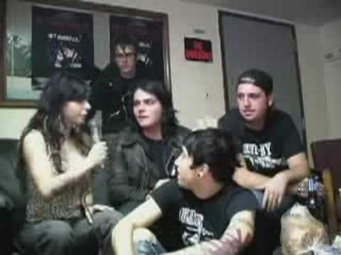 My Chemical Romance Interview on Burning Angel DVD