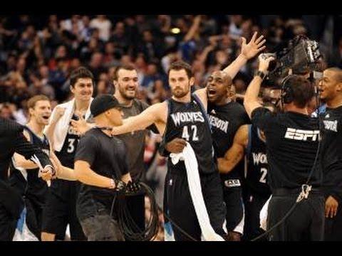 Minnesota Timberwolves Top 10 Plays of the 2012 Season