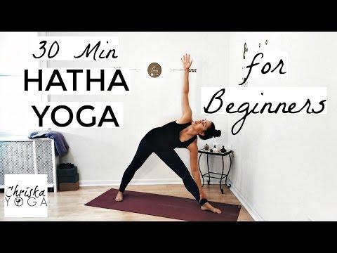 30 Min Hatha Yoga for Beginners - Gentle Beginners Yoga Class - Yoga Basics