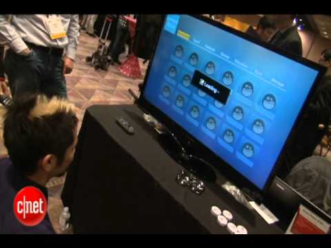 Video Mic Flag with Brian Tong at CES 2012 Lenovo Idea TV