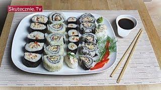 3 proste sposoby na... Domowe sushi z tuńczykiem :: Skutecznie.Tv [HD]