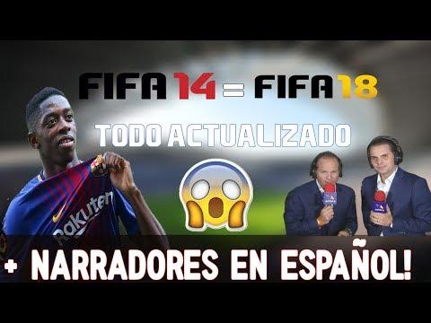 IMPRESIONANTE! FIFA 14 ACTUALIZADO 2017-2018 DESCARGA AQUI/ TODO ACTUALIZADO!