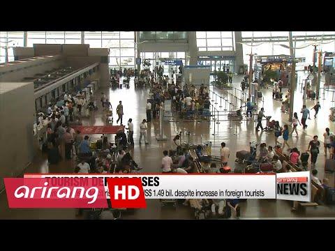 Korea's tourism deficit edges up again in 2016