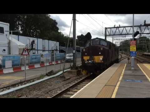 WCRC 37706 with the RILA Equipment at Shenfield - 03/08/16