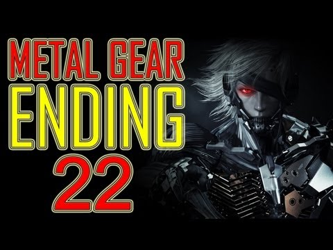 Metal Gear Rising Revengeance - ENDING HD + Final Boss + After credits ENDING end walkthrough part 22 ending