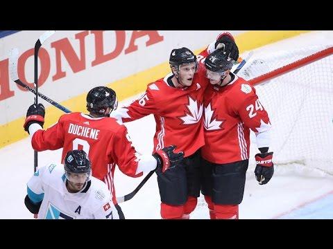 Канада — Европа 4:1 Видео обзор матча и все голы 22.09.2016 Кубок Мира по хоккею 2016