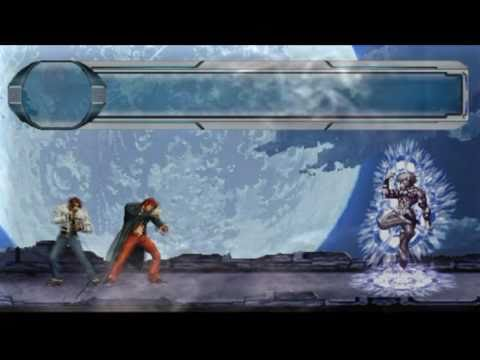 ANIMACION -The King of Fighters- kio, iori vs orochi ,  Ash   animation en flash kof 2011 kof 2012