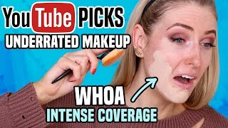 Testing Subscribers' BEST UNDERRATED MAKEUP || Full Day Wear Test!
