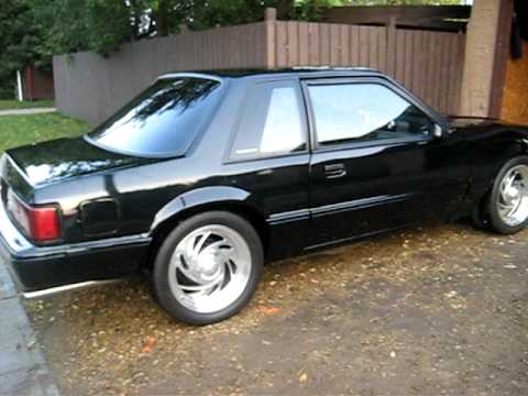 89 Mustang 5.0 Hatchback 89 Ford Mustang 5.0l Coupe