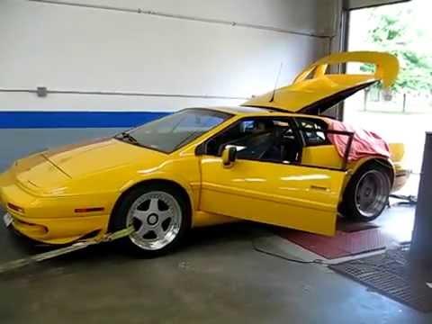 Lotus Esprit Twin Turbo V8 Youtube