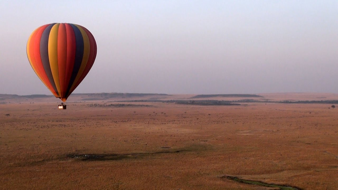 Balloon Safari de Kenia