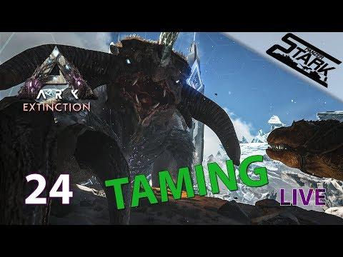 ARK Extinction - 24.Rész (Ice Titan Szelídítés) - Stark LIVE