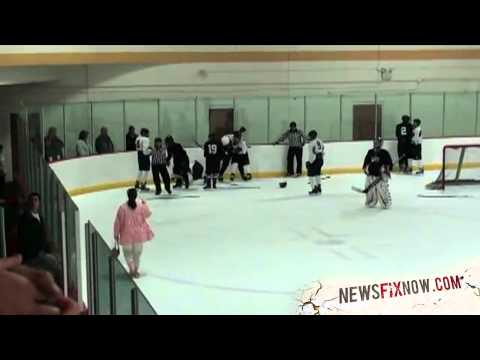 7 year old hockey player with great moves