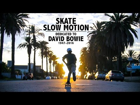 David Bowie - Heroes - Slow Motion Skateboarding