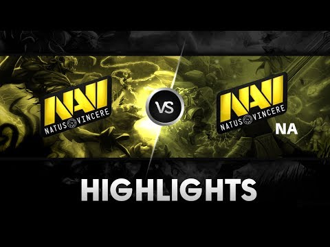 Highlights from Na'Vi vs Na'Vi.NA @ The Summit