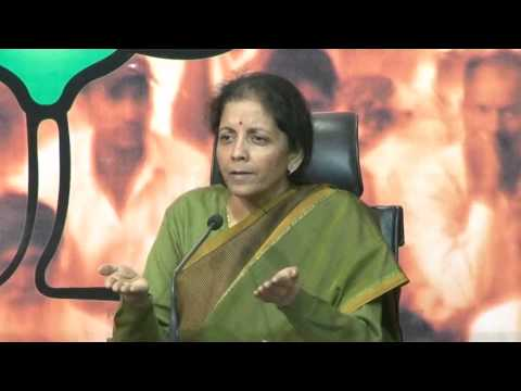 Bjp Press On Attack On Hindus In Bangladesh : Smt. Nirmala Sitharaman video