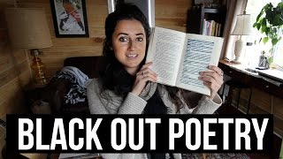 HOW TO MAKE BLACK OUT POETRY
