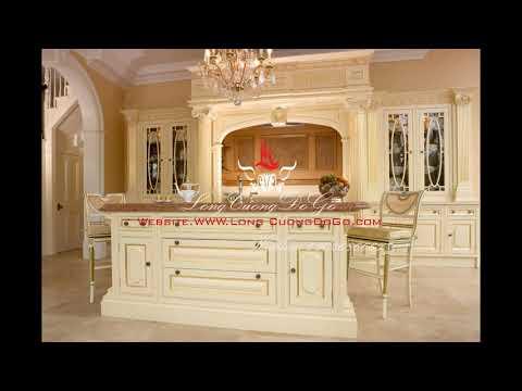 Tủ bếp cổ điển phong cách Châu Âu