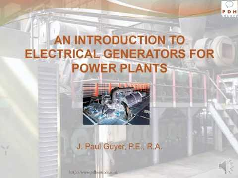 Electrical Generators Power Plants