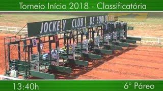 GP JOCKEY CLUB DE SOROCABA 6° PÁREO (TORNEIO INÍCIO) 11•03•2018