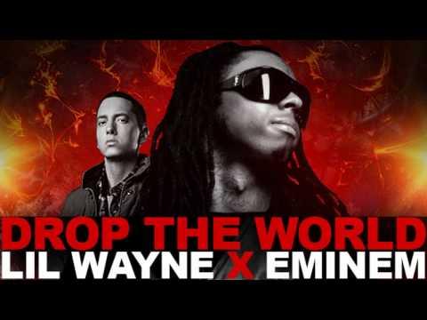 Lil Wayne ft Eminem - Drop The World HD (Music)