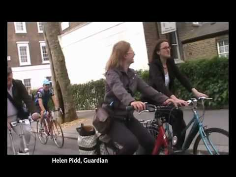Victoria Pendleton joins Parliamentary Bike Ride 2010